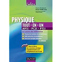 """Physique tout-en-un MPSI-PCSI-PTSI - 3ème édition : Le cours de référence (Cours """"tout-en-un"""" de physique t. 1)"""