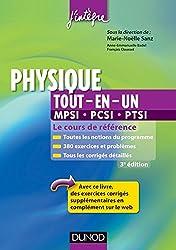 Physique tout-en-un MPSI-PCSI-PTSI - 3ème édition : Le cours de référence (Cours