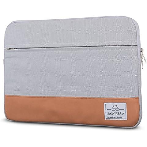 Funda portátil 11 - 12 pulgadas Johnny Urban de lona en Gris - Bolso para MacBook Air 11.6