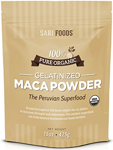 Maca Gelatinizada Orgánica en polvo (Organic Gelatinized Maca Powder)