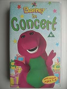 Barney Barney In Concert Vhs Children Amazon Co Uk Video