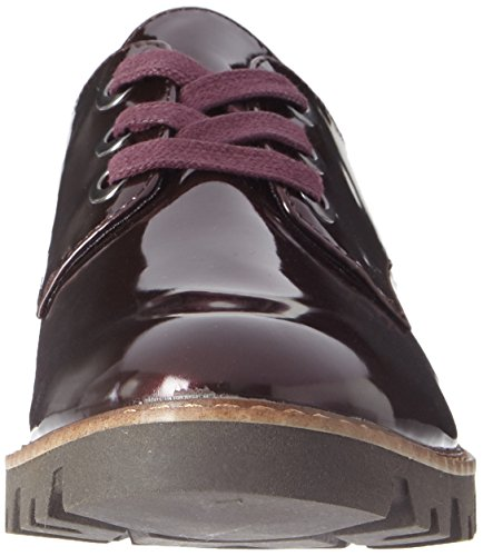 Tamaris Damen 23712 Oxfords Rot (Bordeaux)