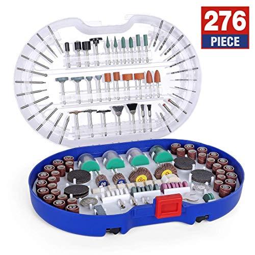WORKPRO 276-piece Rotary Werkzeug Zubehör Kit Universal, die für leichtes Schneiden, und Carving und Polieren