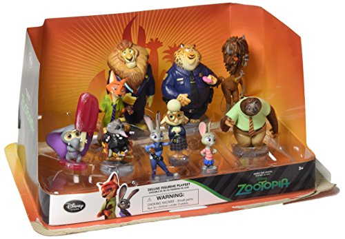 Disney Zootopia Exclusive Deluxe 10 Figure Character Play Set by Disney