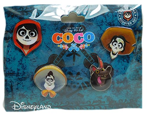Unbekannt Disney Pin Pins DLRP 2017 Trade Set Coco 4 pieces Pixar