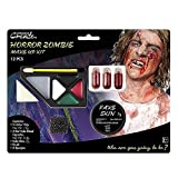 Amscan International 9901423 Horror Zombie Make up Kit