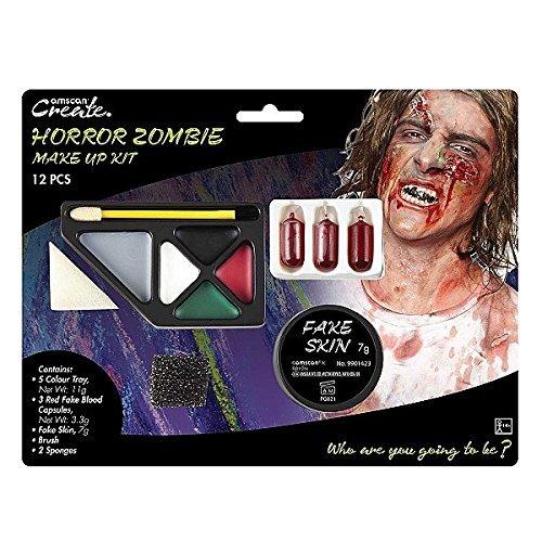 9901423Horror Zombie Make Up Kit ()