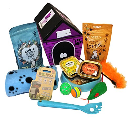 CAT TREAT GIFT HAMPER - BLUE