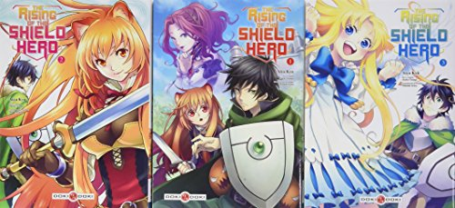 Rising of the shield Hero starter pack V1 - 2 - 3