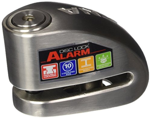 XENA (XX10-SS) Disc-Lock Alarm for Motorcycle, Stainless Steel