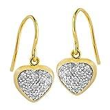 Diamond Line - Boucles d'oreilles - Or jaune - Diamant - 120337