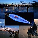 Opfury Angeln Schwimmt, Elektrische Angelposen LED Laufposen Angeln, Fishing Float mit Alarm Biss...