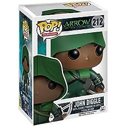 Funko - Figurine Arrow TV - John Diggle Exclu Pop 10cm