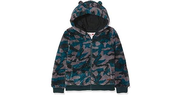 6d02ebb10 boboli Wind Breaker Fluffy for Girl Coat: Amazon.co.uk: Clothing