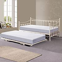 Hf4you Memphis Day Bed With Trundle - Memory Foam Mattress