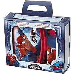 Portamerenda Con Borraccia In Plastica - Disney Marvel Spiderman
