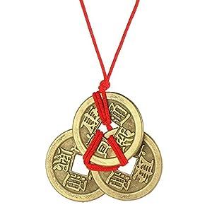 Fantiff Emperor Amulett für Reichtum und Glücksbringer aus Messing