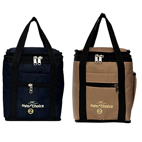 Right-Choice-Combo-Offer-Lunch-Bags-Premium-Quality-Carry-on-Tote-Compact-Heat-Preservation-Waterproof-Hygiene-Meal-Prep-Box-Bag-Black-Beige-Color-Box2008