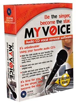 My Voice Audio CD Vocal Removal Software(PC)