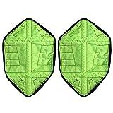 Wildlead 1Paar Wiederverwendbar Automatische Überschuhe Socke auto-package Schuhüberzieher, grün