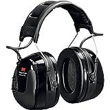 3M Peltor WorkTunes Pro Radio FM - Casque antibruit en serre-tête avec entrée MP3 - Atténuation 32 dB - 1 x casque double fon