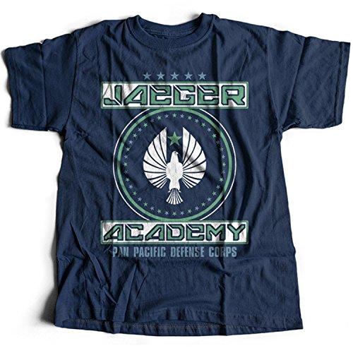 Flamentina 9185n Jaeger Academy Mens T-Shirt Pacific Rim Gipsy Danger Crimson Typhoon Striker Eureka Coyote Tango Cherno Alpha
