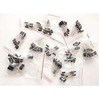 Condensadores electrolíticos universales de 120 piezas de 220nF-470µF 16/50V DC #1931