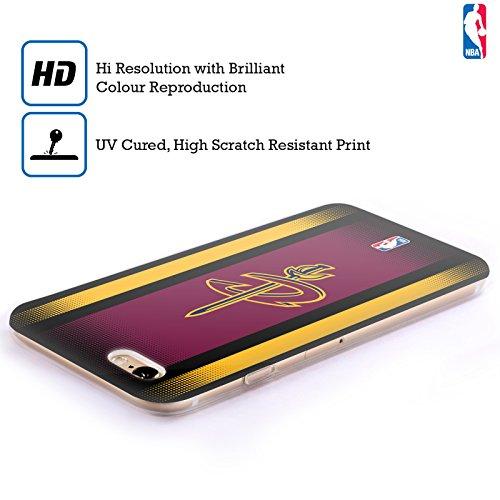 Ufficiale NBA Camouflage Digitale Cleveland Cavaliers Cover Morbida In Gel Per Apple iPhone 6 / 6s Gradiente Mezzotono