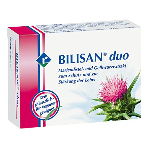 Leber 100 Tabletten (Bilisan duo Tabletten 100 stk)