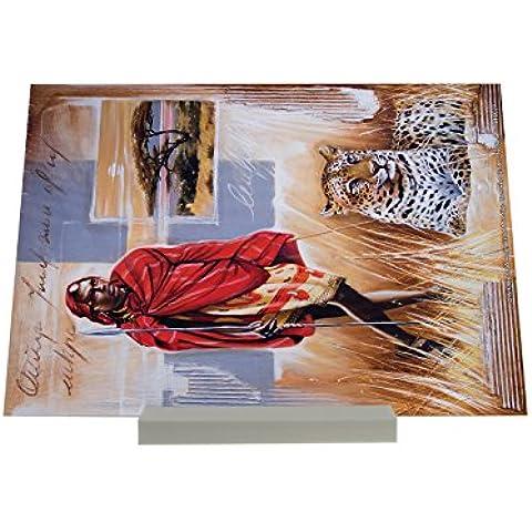 impresión del arte Soporte Fotografias Agencia De Viajes Vacaciones Warminski África Masai león