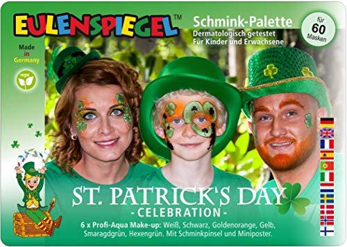 Eulenspiegel 206393 St.Patrick's Day - Paleta Maquillaje