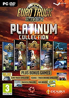 Euro Truck Simulator 2 - Platinum Collection PC DVD