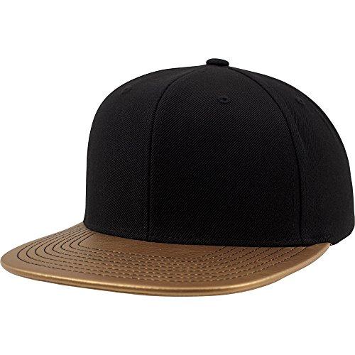Flexfit by Yupoong Mens Premium Wool Metallic Visor Snapback Cap 19c1727b5d3d