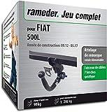 Attelage Amovible pour FIAT 500L + faisceau 7 broches (144488-10453-1-FR)