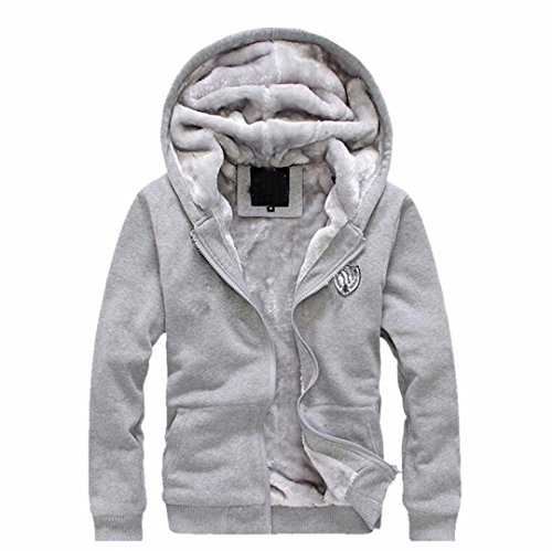 Mens Pullover Winter Jackets Fleece Hoodies Outwear Coat Top Pants Sets