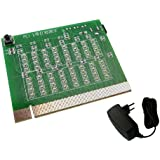 KALEA-INFORMATIQUE © - Testeur à diodes LED pour port PCIE PCI-EXPRESS - Avec alimentation 12V/2A