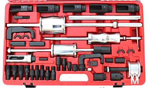 Preisvergleich Produktbild Uk 40 Pc Diesel Injektor-Auszieher Folie Hammer Abzieher Adapter Normale Schienen