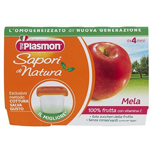 Plasmon Omogeneizzato di Frutta Mela Sdn - 24 Vasetti da 100 gr