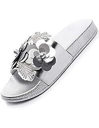 c854c1c9050ee Suchergebnis auf Amazon.de für: Silber - Hausschuhe / Damen: Schuhe ...