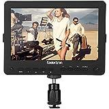 Koolertron 7 Pouces Ultra HD LCD Moniteur de Contrôle caméra Vidéo avec 1280x800 Haute Résolution HDMI/AV pour Canon Nikon Sony DSLR Appareil photo Reflex Caméscope