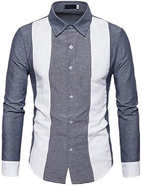 Zhuhaitf Mens juventud Long Sleeve Luxury Soft Buttons Shirt Shirts Tops Workwear Graduation Christmas Birthday...