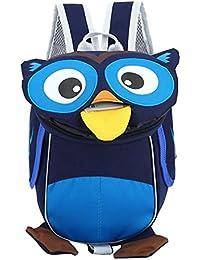PENGYUE Kinderrucksack Kindergartenrucksack Kinder Rucksack Eule Form Niedlicher Lässig Baby Backpack Geeignet... preisvergleich bei kinderzimmerdekopreise.eu
