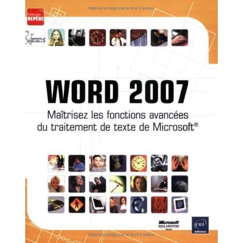 Word 2007 : Maîtrisez les fonctions avancées