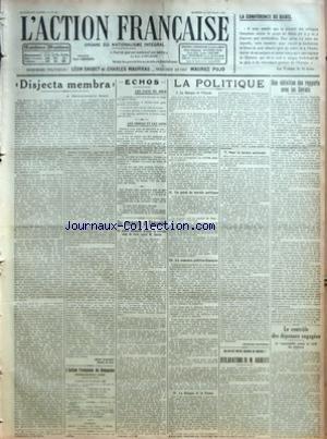 ACTION FRANCAISE (L') [No 42] du 11/...