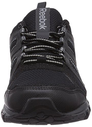 Reebok DMX Ride Comfort RS 2.0, Chaussures de marche mixte adulte multicolore (Negro / Gris (Black / Gravel / Flat Grey / Foggy Grey))