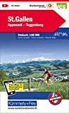 St. Gallen, Appenzell, Toggenburg Velokarte Nr. 7: 1:60000, waterproof, Freemap on Smartphone included (Kümmerly+Frey V