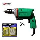 #7: Professional Power Tool - Electric Drill Machine 10MM - 300W, 2600 Rpm, 220V- 50Hz