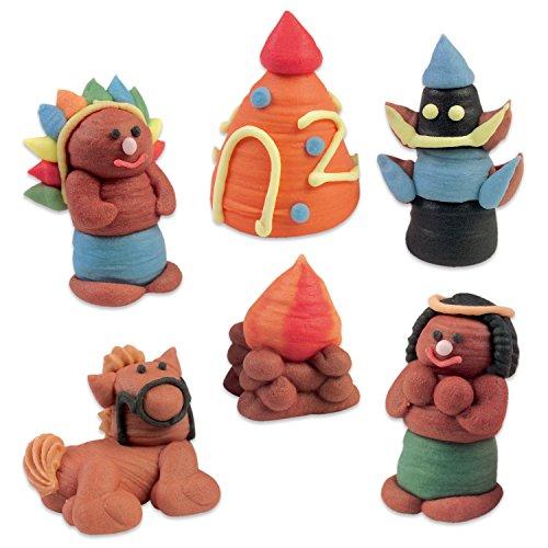 Preisvergleich Produktbild 24 Zuckerfiguren Indianer
