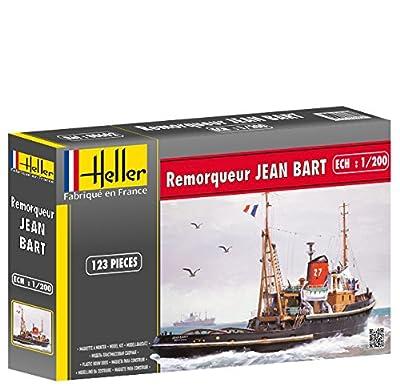 Heller - 80602 - Maquette - Bateau - Remorqueur Jean Bart - Echelle 1/200 - Classique