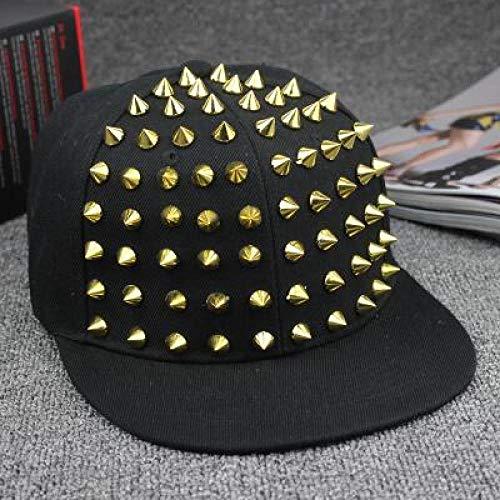 kyprx Herren Baseball Caps Günstige Herren Baseball Spike Niet Nagel handgefertigt Schlangenleder Männer weiß Blackbaseball Cap Hüte